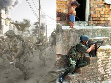 ザクの逆襲に子供のささやかな抵抗完全無修正デジカメ編集写真