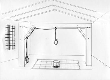市橋達也死刑執行場所の完全無修正自筆画デジカメ写真
