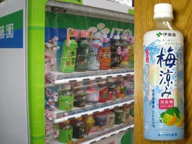 デジカメ:伊藤園の梅涼みジュース