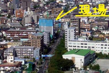 上滝建設11階建マンション分譲新築工事完全無修正デジカメ写真画像