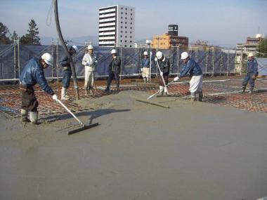 完全無修正写真:屋上防水塗装工事証明写真