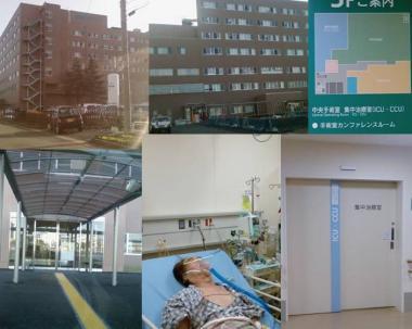 静岡県東部医療センター入院中の親父:完全無修正写真