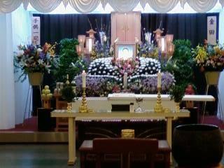 父の葬儀祭壇 1 :完全無修正画