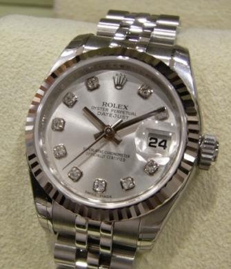偽造ROLEX腕時計無修正画像