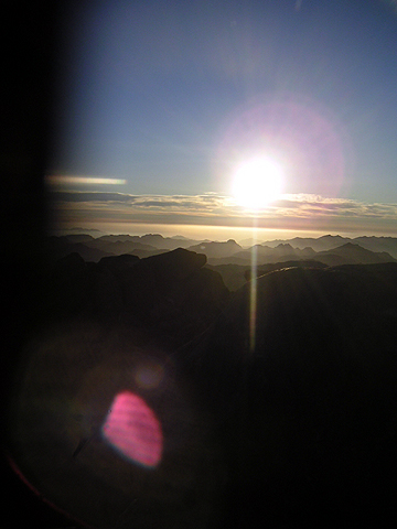sunrise at sinai