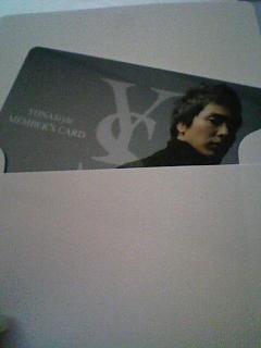 yonaqstyle 会員カード!^^v