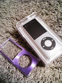 ipod nano とハードカバー