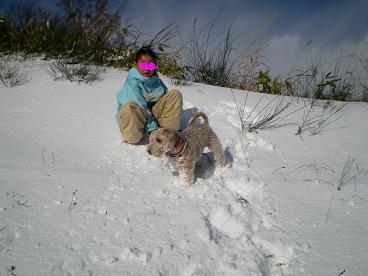 雪あそび 002