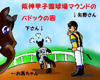 絵日記2・20タイガース党・馬