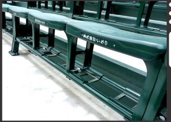 絵日記3・27外野椅子