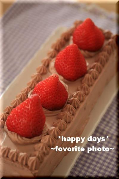 チョコレートショートケーキ4_1
