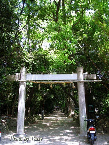 日野神社 鳥居