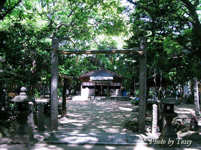 日野神社 仮本殿