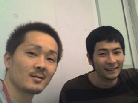 東長濱選手と・・