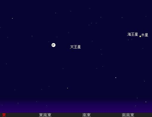 2009 10  3 十五夜星図