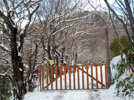 雪国王国への入り口
