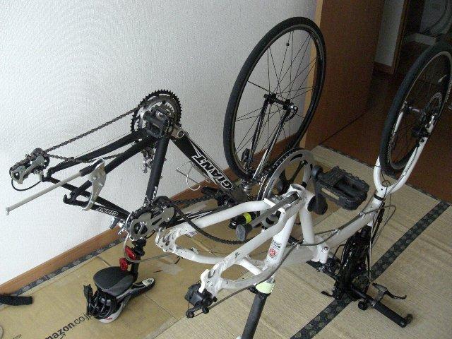 ... 自転車通勤を心がけています