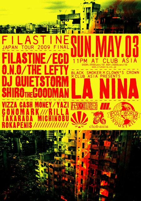 LA NINA -FILASTINE TOUR 2009 FINAL-