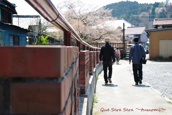 明智川沿いのステキなレンガ造り
