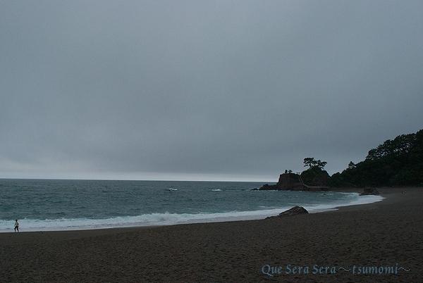 桂浜から土佐湾を望む