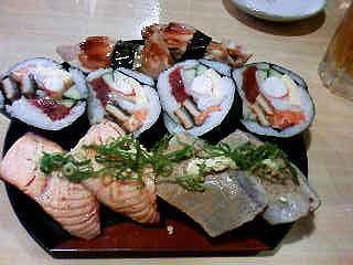 穴場の寿司