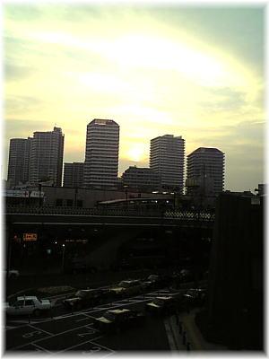 きゅーぽらの夕陽
