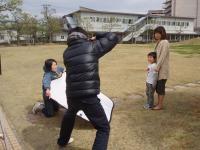 親子モデル撮影風景