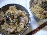 鶏とごぼうの炊き込みゴハン