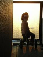 夕日の冷えピタライダー
