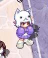 紫ミラ帽ウサ子