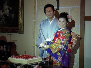 2008.10.12井手さん・智ちゃん挙式1