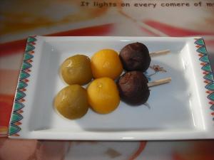 松山銘菓「坊ちゃんだんご」4