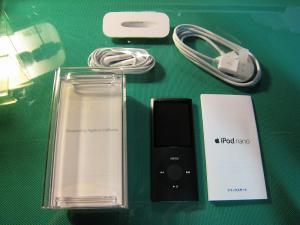iPod nano、第4世代16G、2