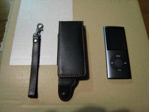 iPod nano、第4世代用本革レザージャケット、レイ・アウト、3