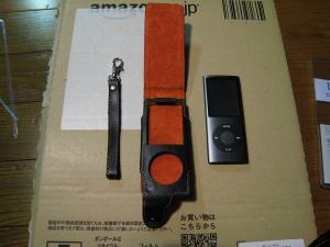 iPod nano、第4世代用本革レザージャケット、レイ・アウト、4