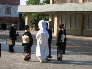 出雲大社4、10.30、綿帽子の花嫁