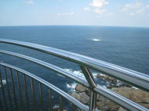 日御碕灯台3、日本海の眺め