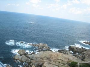 日御碕灯台4、日本海の眺め