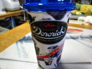 グリコ Glico 「ドロリッチ、Dororich」1、クラッシュ・カフェ・ゼリー・ミルク・イン、