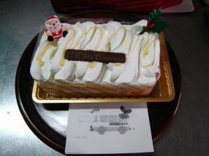 「クリスマス・ケーキ」、両備グループ・中国バス、2