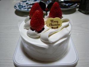 ファミリーマートのクリスマス・ケーキ2