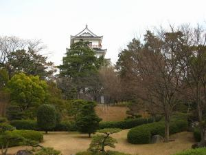 福山城2、2008暮れ