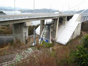 因島大橋3、歩行者・自転車・原付用部分