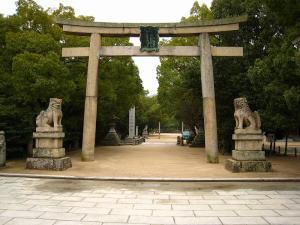 愛媛県大三島、大山祇神社1