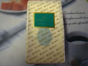 銀装・GINSO「CASTE 21」、カステラ・青箱、2