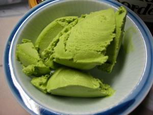 「レディー・ボーデン、抹茶」アイスクリーム4