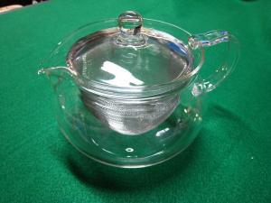 HARIO 耐熱ガラス製「茶茶急須丸」1