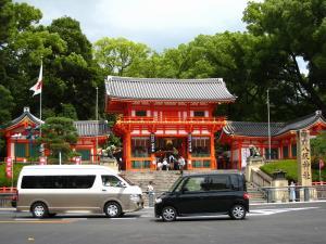 「京都・祇園祭撮影行」2009、2、「八坂神社西楼門1」