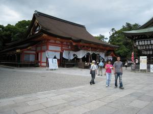 「京都・祇園祭撮影行」2009、4、「八坂神社御本殿」