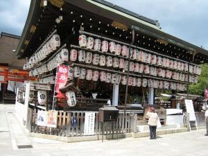 「京都・祇園祭撮影行」2009、5、「八坂神社舞殿」